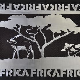 Metal art, Africa theme