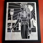 Metal art, Egyptian theme