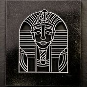 Metal art, Egyptian queen
