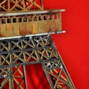 Metal art, Eiffel Tower
