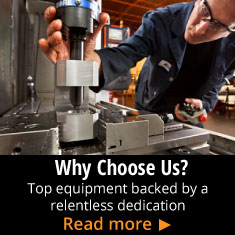 Why Choose Us? - Top equipment backed by a relentless dedication - Read More